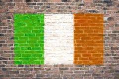 Bandierina irlandese Fotografie Stock