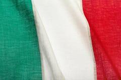 Bandierina italiana Immagine Stock