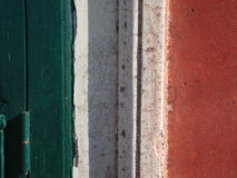 Bandierina italiana Fotografie Stock