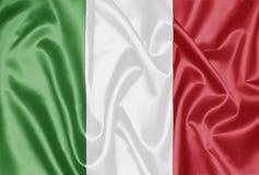 Bandierina italiana - Italia fotografia stock libera da diritti