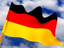 Bandierina. La Germania illustrazione vettoriale