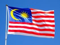 Bandierina malese immagini stock libere da diritti