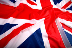 Bandierina Regno Unito Fotografia Stock