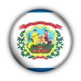 Bandierina rotonda della condizione degli S.U.A. del tasto della Virginia dell'Ovest royalty illustrazione gratis