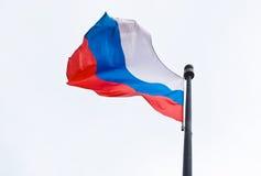 Bandierina russa. Immagini Stock Libere da Diritti