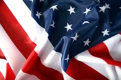 Bandierina S.U.A. Fotografia Stock