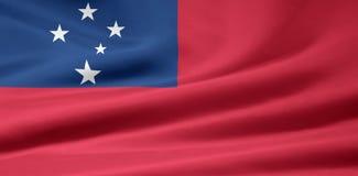 bandierina Samoa illustrazione di stock