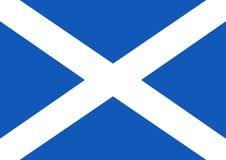 Bandierina scozzese Immagine Stock Libera da Diritti