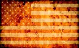 Bandierina Stati Uniti d'America Immagini Stock Libere da Diritti