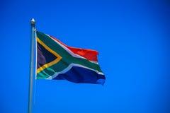 Bandierina sudafricana Fotografie Stock Libere da Diritti