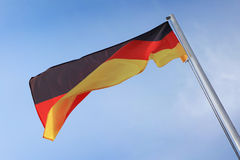 Bandierina tedesca Immagine Stock