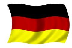 Bandierina tedesca illustrazione vettoriale