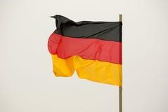 Bandierina tedesca Immagini Stock Libere da Diritti