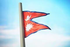 Bandierina tibetana Immagini Stock Libere da Diritti