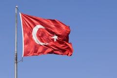 Bandierina turca Fotografia Stock