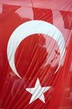 Bandierina turca Fotografia Stock Libera da Diritti