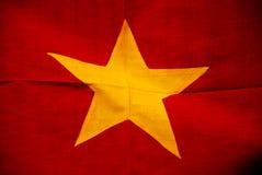 Bandierina vietnamita Immagini Stock Libere da Diritti