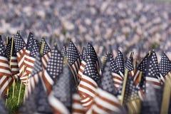 Bandierine degli Stati Uniti Fotografie Stock