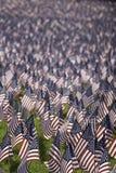 Bandierine degli Stati Uniti Fotografia Stock Libera da Diritti