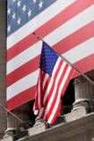 Bandierine degli Stati Uniti Immagini Stock