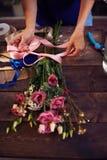 Banding flowers Stock Image