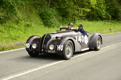 Bandini car running in Mille Miglia race Stock Photos