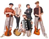 bandinstrumentmusikal deras white royaltyfri foto