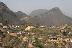 Bandipur Landschaft Lizenzfreies Stockbild
