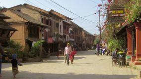 Bandipur village in Nepal Royalty Free Stock Photography