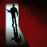 Bandit à la porte Photos libres de droits