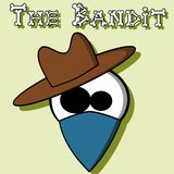 The Bandit. An illustration of a bandit Royalty Free Stock Photos