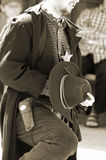 Bandit 9 de calicot Images libres de droits