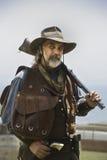Bandit armé de l'ouest sauvage photographie stock