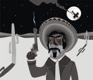 Bandit armé mexicain Photos stock