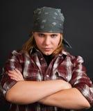 Bandit girl Stock Photos