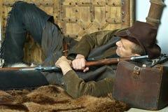 Bandit with gun Stock Photos