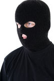 Bandit in mask Stock Photos
