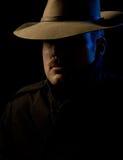 Bandit - type de noir de film Photographie stock libre de droits