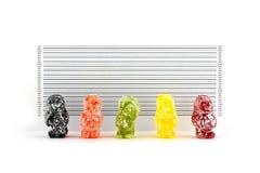 Banditi del bambino della gelatina Fotografie Stock Libere da Diritti