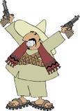 Bandito messicano Fotografia Stock