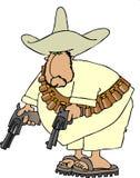 Bandito mexicain Images libres de droits
