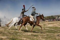 Bandito nella commemorazione della battaglia di Bailen immagini stock