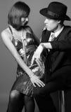Bandits de flirt Photographie stock libre de droits