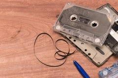Bandkassetter Arkivbild