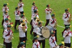 bandmarsch Royaltyfria Bilder