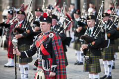 Bandmaster piper Royalty Free Stock Photos