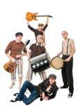 bandmusikal royaltyfri fotografi