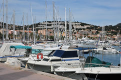 Bandol, France - april 20 2016 : the picturesque city Royalty Free Stock Image