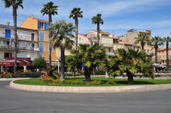 Bandol, France - april 20 2016 : the picturesque city Royalty Free Stock Photography