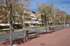 Bandol, France - april 20 2016 : the picturesque city Stock Image